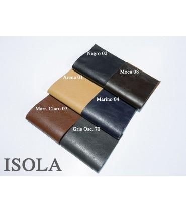 Vinyl 5. Cenefa de piel sintética Isola.