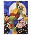 Alfombra Tortugas Ninja Michelangelo