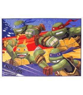 Alfombra Tortugas Ninja en Acción