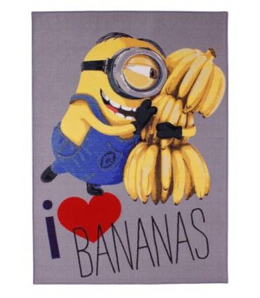 Alfombra Minions I love Banana!