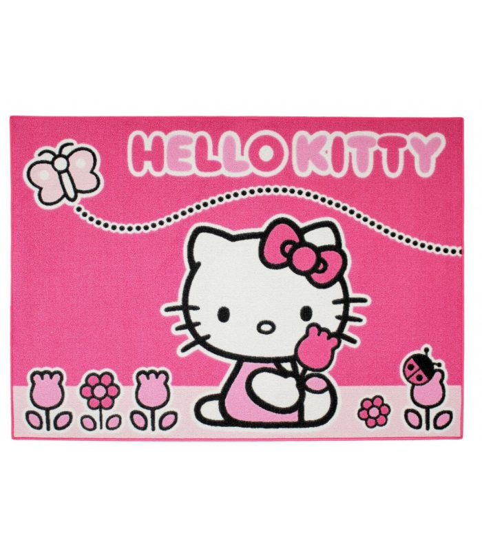 Alfombra Hello Kitty Mariposa