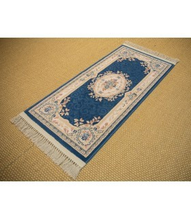 Byzan 851. Color Azul. Pie de Cama.