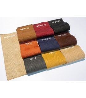 Cenefas Microfibra. Colores.
