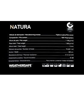 Natura 4508. Alfombra a medida de polipropileno.