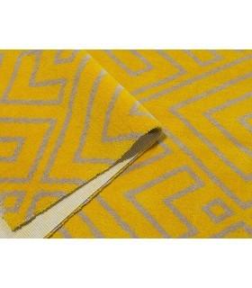 Alfombra con diseño personalizado de lana Custom Wool. Ejemplo Alfombra Combinación A.