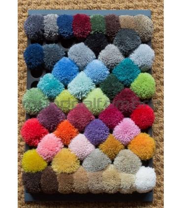 Supreme Wool. Pompones de Colores Estandar.