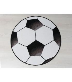Alfombra Balón de Futbol D.80 cm.