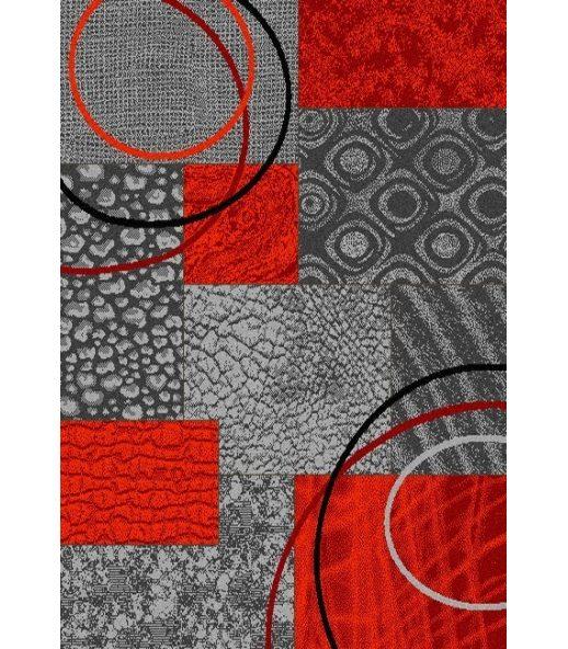 alfombra moderna de acrlico modelo nerea 243 color gris - Alfombra Moderna