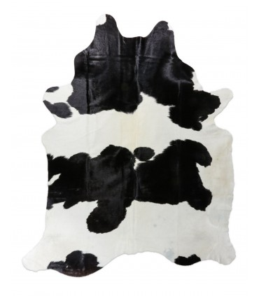 Alfombra Piel de Vaca Blanco y Negro