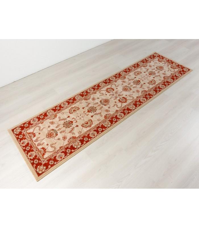 Alfombra clásica de pura lana. Modelo Byzan 5465. Color Caldera.