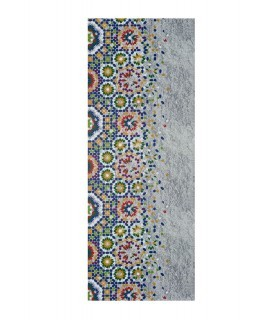 Mosaico. Alfombra lavable.