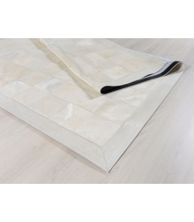 Patchwork White 20x20. Cenefa de 10 cm.