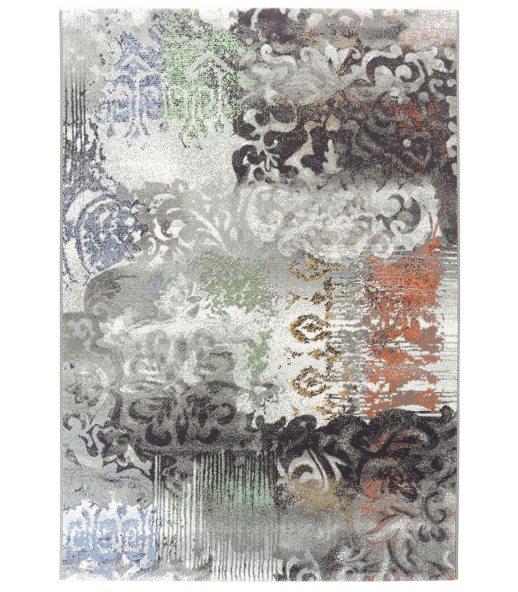 Alfombra moderna con dibujo vintage tejida en crevillente for Alfombras 200x300 baratas
