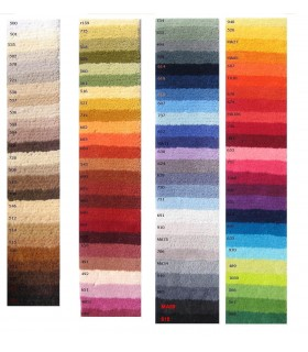 Catálogo de Colores para personaliza su alfombra.