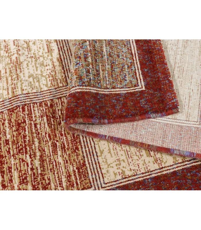 Mosaic 203. Alfombra de lana 140x200.