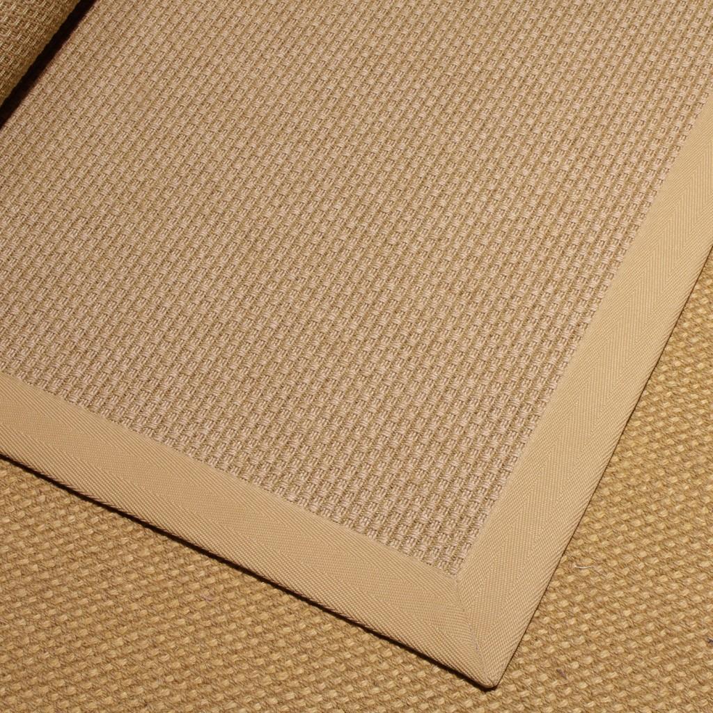 Cenefa de microfibra con dibujo espiga. Color Natural.