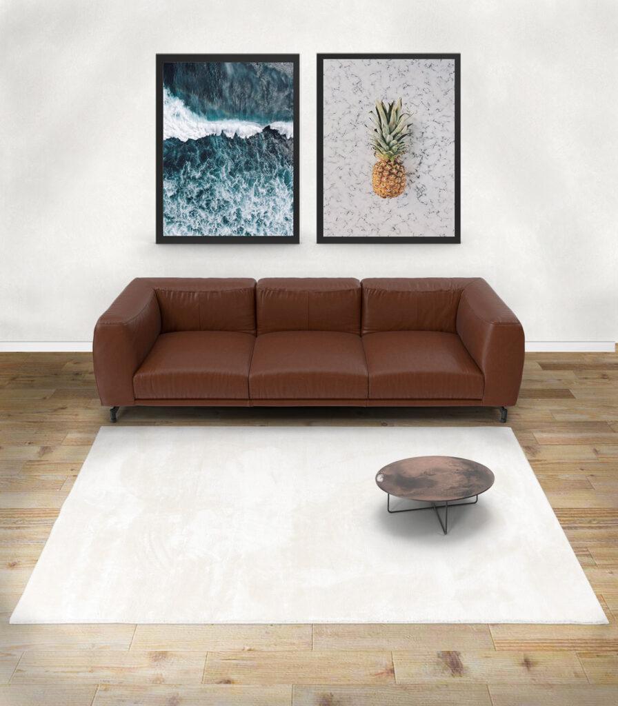 Nuestra alfombra lavable de pelo medio modelo FOXY. Disponible en cuatro colores.