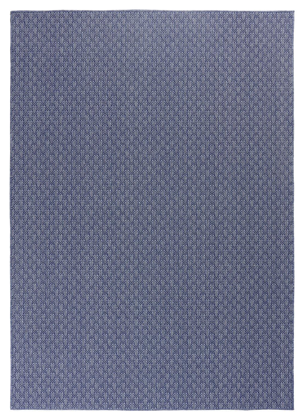 Indigo Azul. Alfombra de lana.