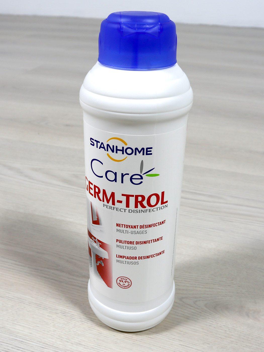 Liquido Desinfectante Multi Usos Germ Trol Viricida - Botella 1 Litro -