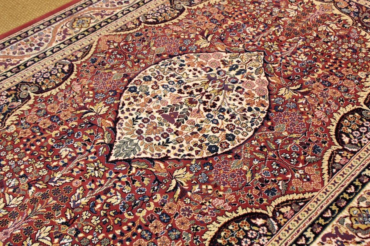 Persia 820. Alfombra Clásica de Pura Lana Virgen.