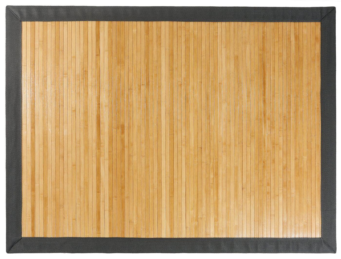 Alfombra de Bambú a Medida.