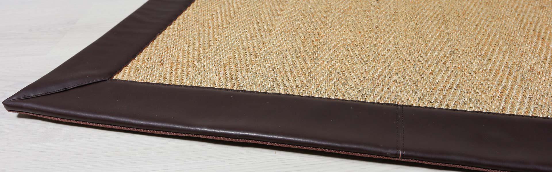 ¿Como son los bordes de las alfombras a medida?
