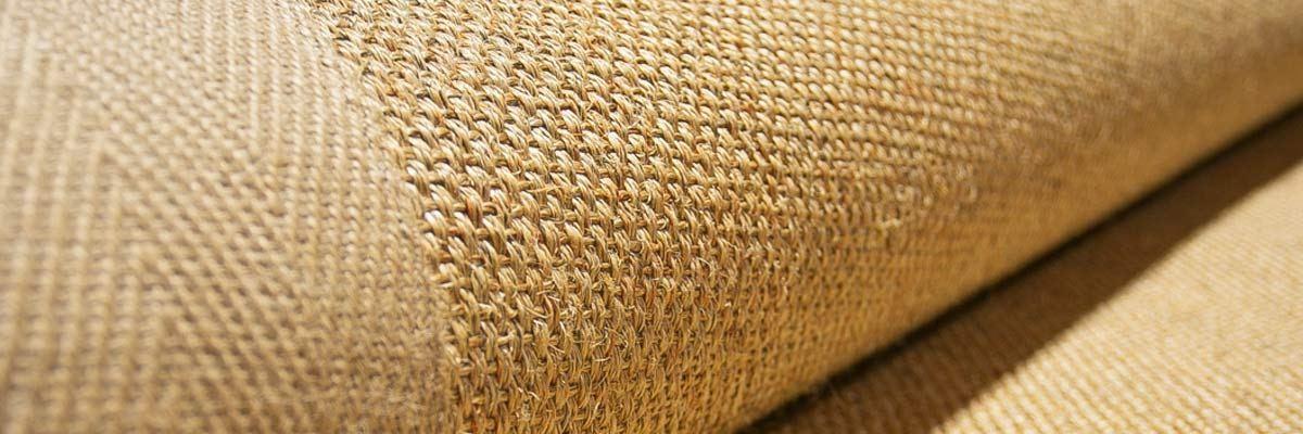 Alfombras de fibras vegetales de sisal coco o yute con acabado a elegir - Alfombras de fibra ...