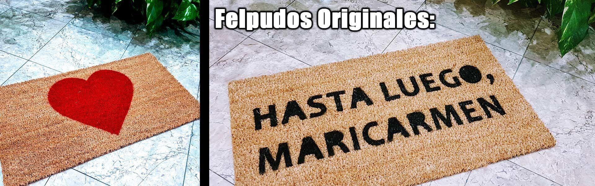 Felpudos Originales en Mundoalfombra
